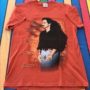 Vintage Yanni Shirt Size Medium